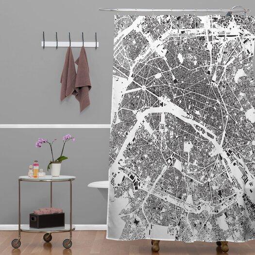 DENY Designs CityFabric Inc Paris Shower Curtain