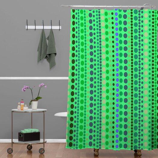 DENY Designs Romi Vega Retro Shower Curtain