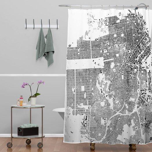 DENY Designs CityFabric Inc San Francisco Shower Curtain