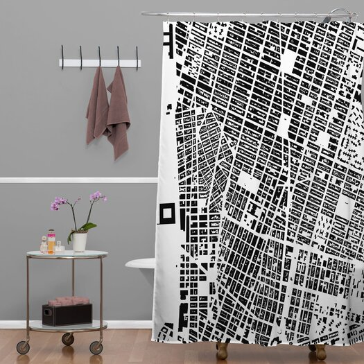 DENY Designs CityFabric Inc NYC Shower Curtain