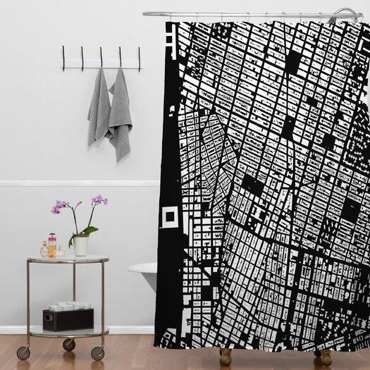 DENY Designs CityFabric Inc NYC Shower Curtain