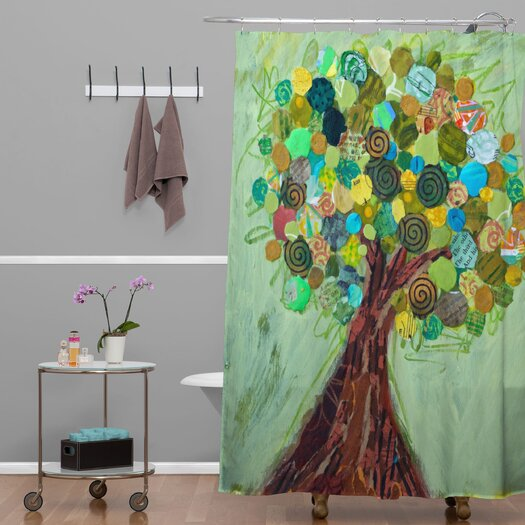 DENY Designs Elizabeth St Hilaire Nelson Spring Tree Shower Curtain