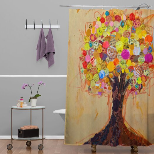 DENY Designs Elizabeth St Hilaire Nelson Summer Tree Shower Curtain