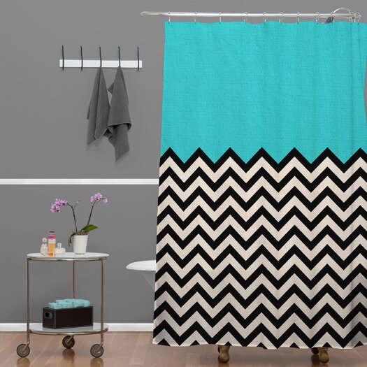 DENY Designs Bianca Green Shower Curtain
