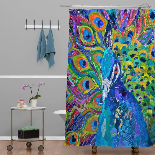 DENY Designs Elizabeth St Hilaire Nelson Cacophony of Color Shower Curtain