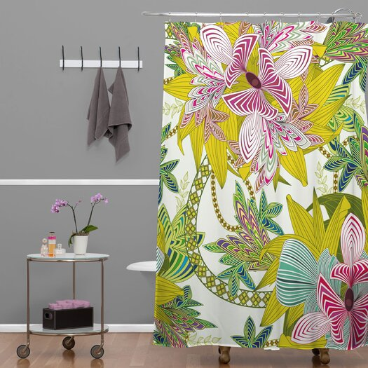 DENY Designs Sabine Reinhart Life Is Music Shower Curtain