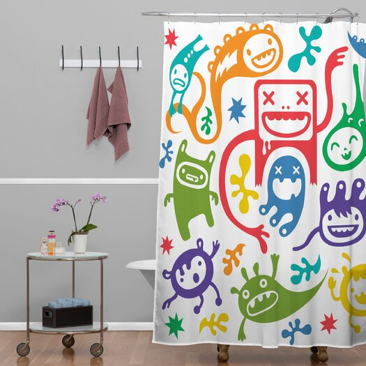 DENY Designs Andi Bird Misfits Shower Curtain