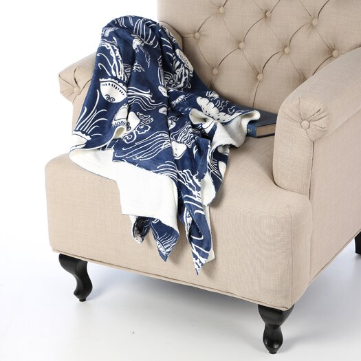 DENY Designs Jennifer Denty Jellyfish Throw Blanket