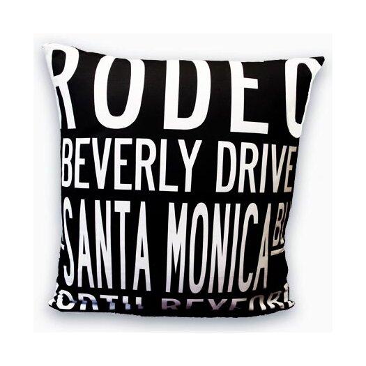 Uptown Artworks Beverly Hills Throw Pillow