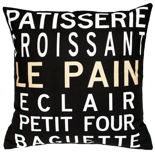 Uptown Artworks Patisserie Throw Pillow