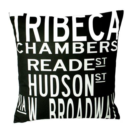 Uptown Artworks Tribeca Throw Pillow