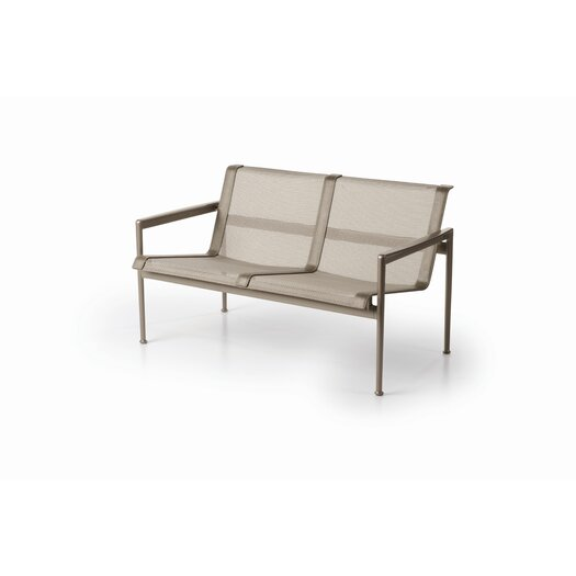 Richard Schultz 1966 Twin Seat Lounge Chair with Arms