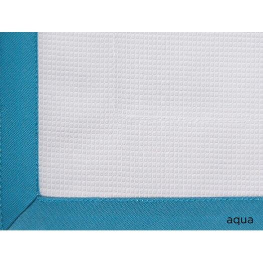 Peacock Alley Pique Tailored Cotton Boudoir/Breakfast Pillow