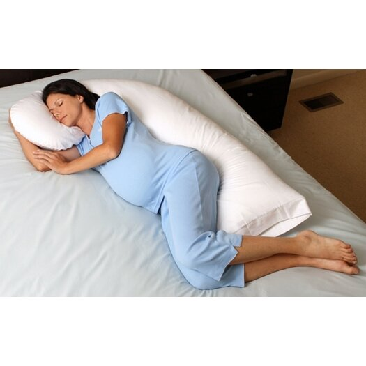 Snoozer Body Pillow Snoozer® Dreamweaver Goose Down Filler Full Body Pillow with Pillowcase