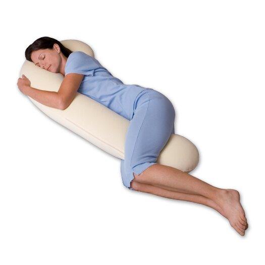 Snoozer Body Pillow DreamWeaver 500 Thread Count Ergonomic Body Pillow