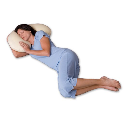 Snoozer Body Pillow Big Curve 500 Thread Count Ergonomic Body Pillow