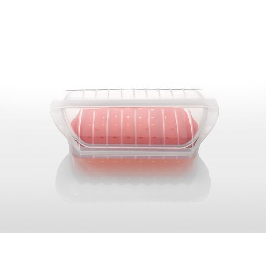 """Lekue 9.45"""" Insert Steam Case with Tray"""