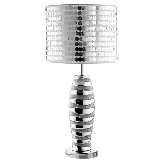 "Modway Sparkle 25.5"" H Table Lamp with Drum Shade"