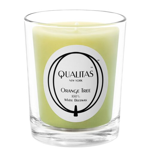 Qualitas Candles Beeswax Orange Tree Scented Candle