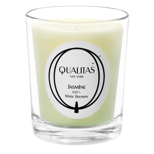Qualitas Candles Beeswax Jasmine Scented Candle
