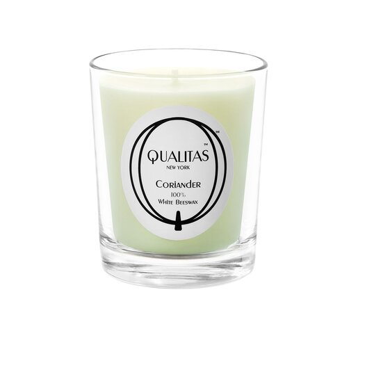 Qualitas Candles Beeswax Coriander Scented Candle