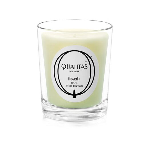 Qualitas Candles Beeswax Hearth Scented Candle