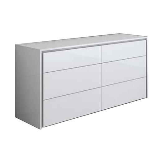 Casabianca Furniture Zen 6 Drawer Dresser