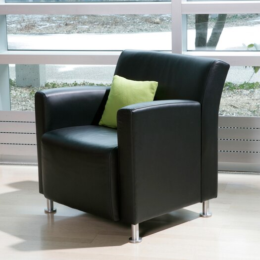 Steelcase Jenny Lounge Leather Lounge Chair
