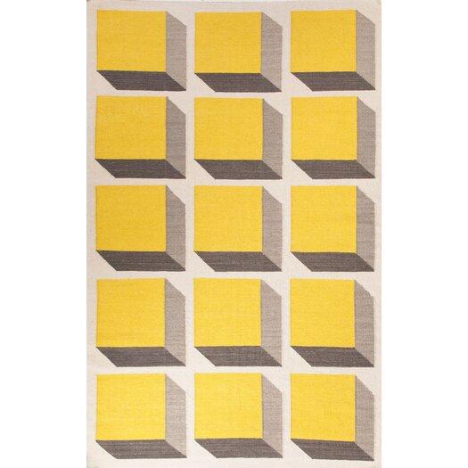 Jaipur Rugs En Casa Yellow Amp Ivory Area Rug Allmodern