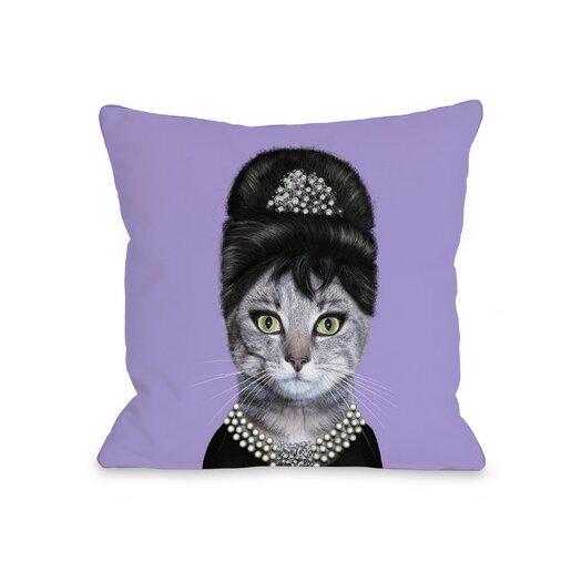 One Bella Casa Pets Rock Breakfast Throw Pillow