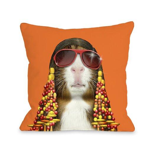 One Bella Casa Pets Rock Funk Throw Pillow