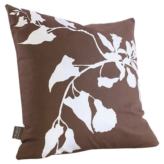 Morning Glory Organic Throw Pillow
