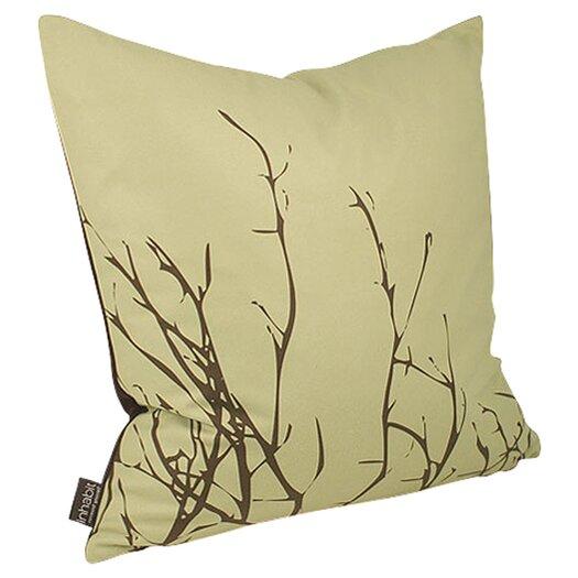 Inhabit Spa Twig Suede Throw Pillow