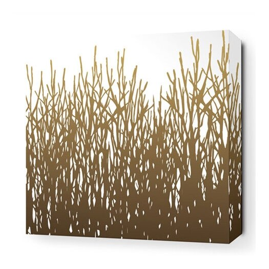 Nourish Field Grass Stretched Graphic Art on Wrapped Canvas