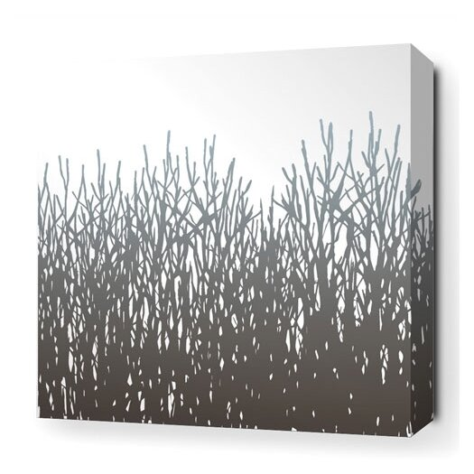Inhabit Madera Field Grass Stretched Graphic Art on Wrapped Canvas