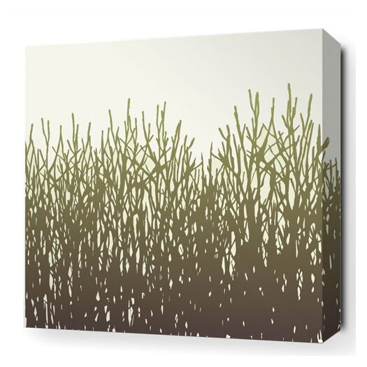 Madera Field Grass Stretched Graphic Art on Wrapped Canvas