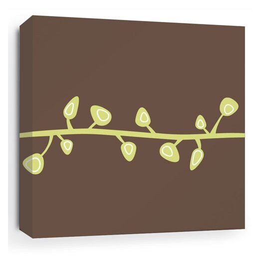 Inhabit Nourish Sprout Stretched Graphic Art on Wrapped Canvas
