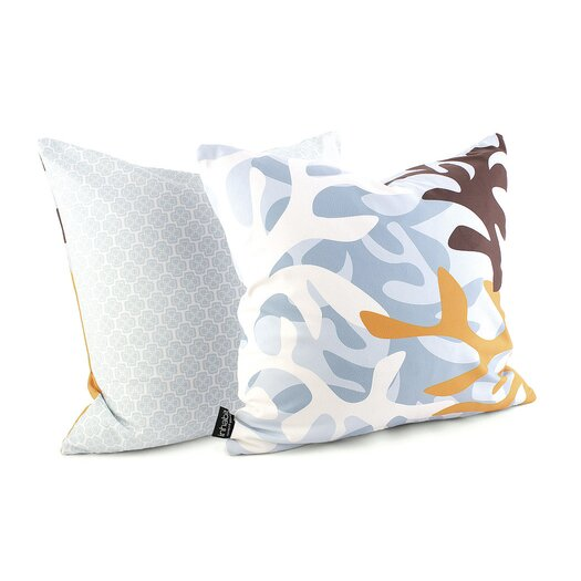 Inhabit Spa Reef Throw Pillow