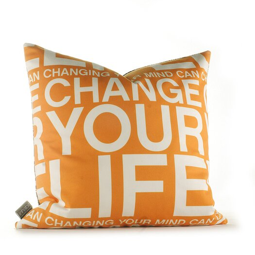 Inhabit Graphic Pillows Change Your Life Throw Pillow