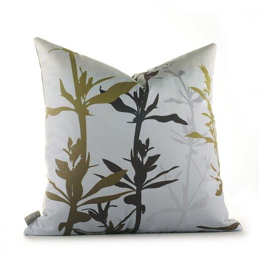 Morning Glory Wildflower Throw Pillow