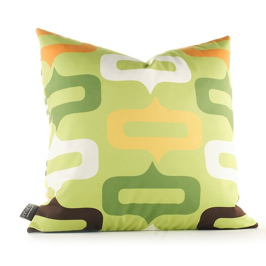 Inhabit Aequorea Smile Throw Pillow