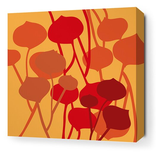 Aequorea Seedling Graphic Art on Wrapped Canvas in Sunshine