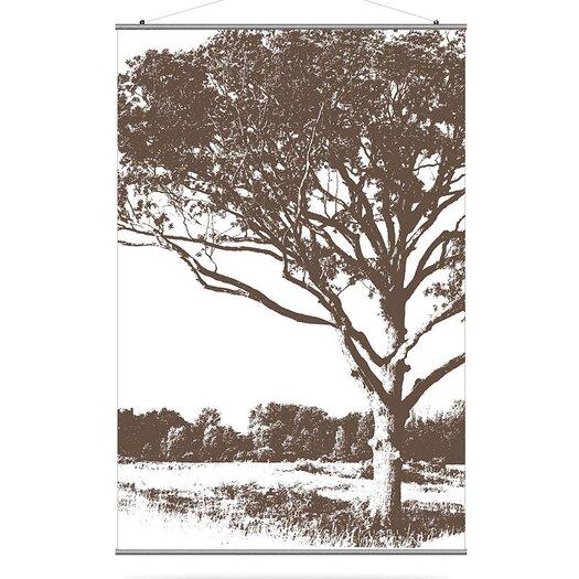 Inhabit Morning Glory Tree 1 Slat Wall Hanging