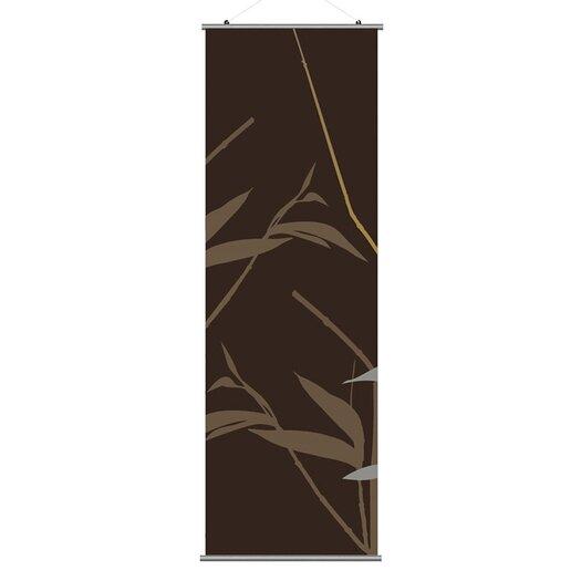 Inhabit Morning Glory Tall Grass Slat Wall Hanging