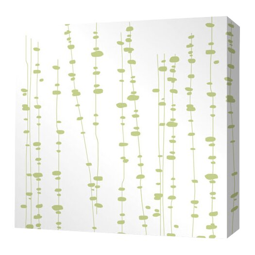 Inhabit Estrella Pussy Willows Stretched Graphic Art on Wrapped Canvas