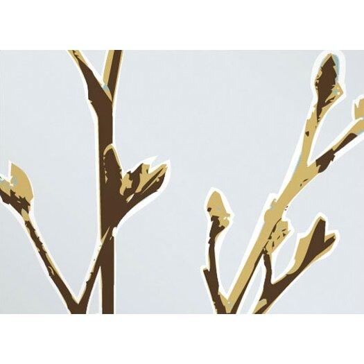Inhabit Botanicals Axis Slat Wall Hanging