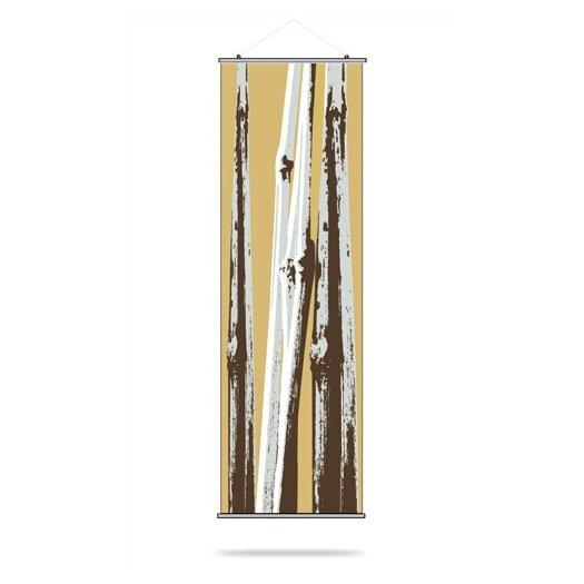 Inhabit Botanicals Bamboo Slat Wall Hanging