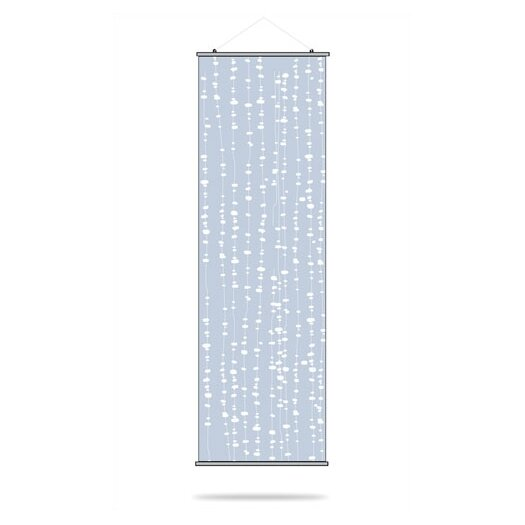 Inhabit Estrella Pussy Willows Slat Wall Hanging