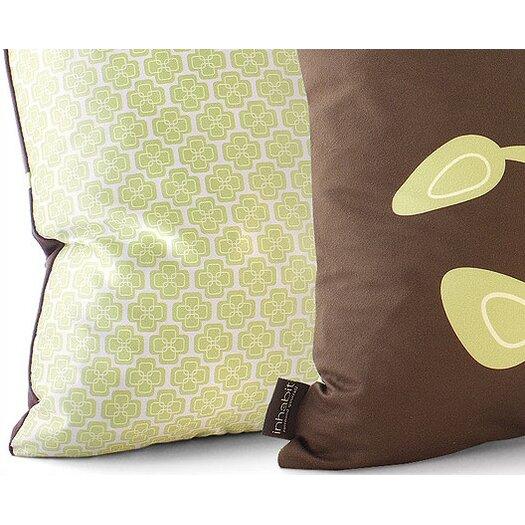 Inhabit Nourish Bud Suede Throw Pillow