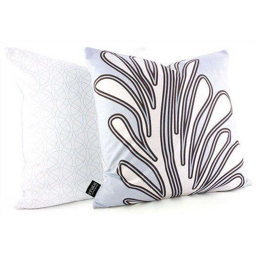 Inhabit Spa Seagrass Throw Pillow